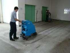 手推洗地机