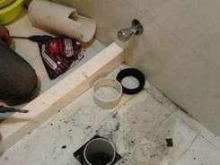 洗手间堵漏