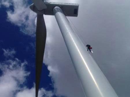 風電塔筒清洗